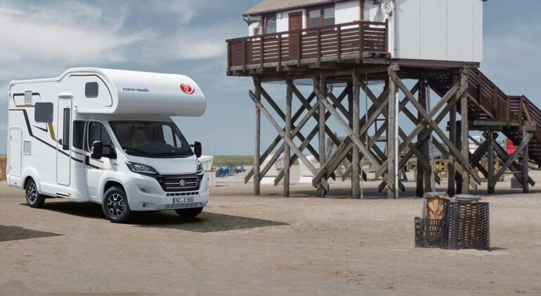 Our coach-built motorhomes