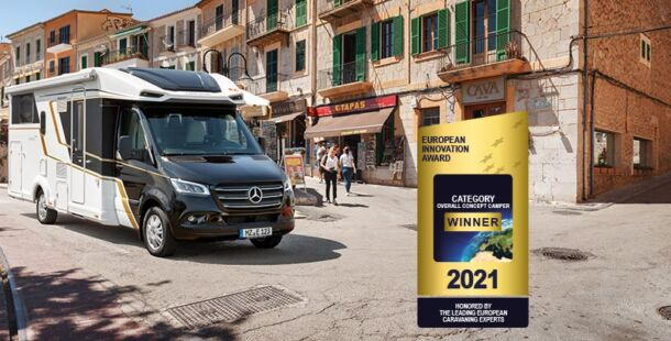 European Innovation Award für den Contura auf Mercedes Sprinter